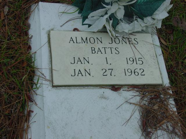 Almon <i>Jones</i> Batts