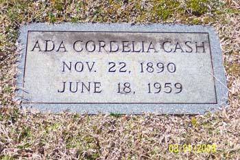 Ada Cordelia Cash