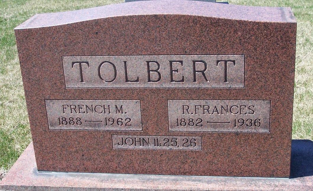 French Monroe Tolbert