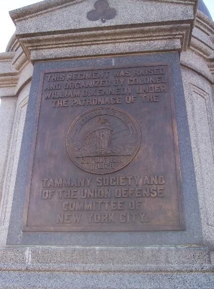 42nd New York Infantry Monument