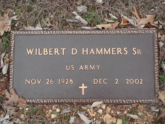 Wilbert D Hammers, Sr