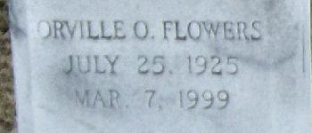 Orville Oliver Flowers
