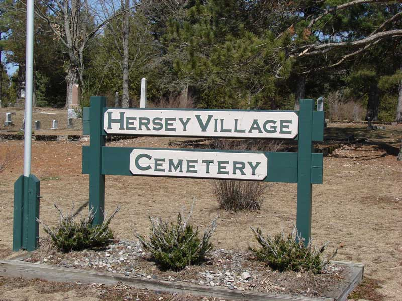 Hersey Village Cemetery