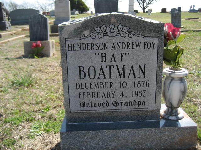 Henderson Andrew Foy Boatman