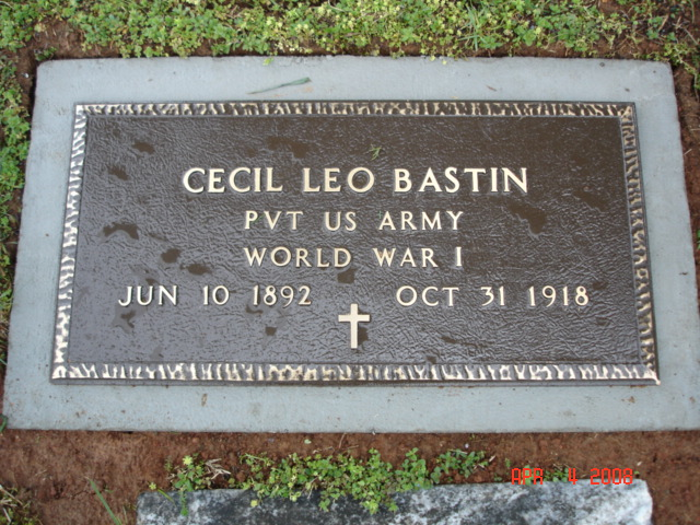Cecil Leo Bastin