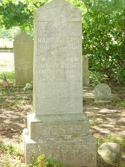 Mrs Margaret Jane <i>Holshousen</i> Gibson
