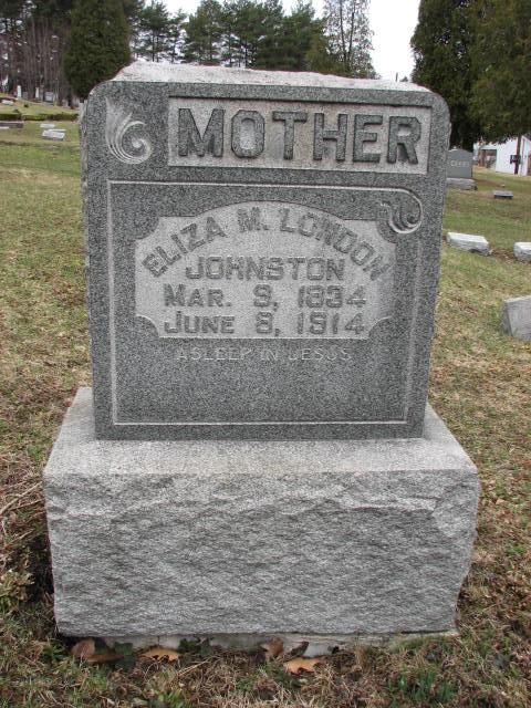Eliza M. <i>London</i> Johnston