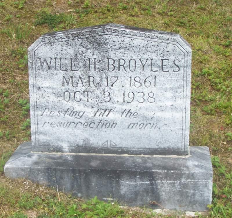 William Henry Will Broyles