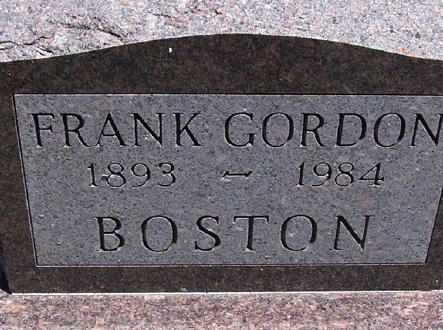 Frank Gordon Boston