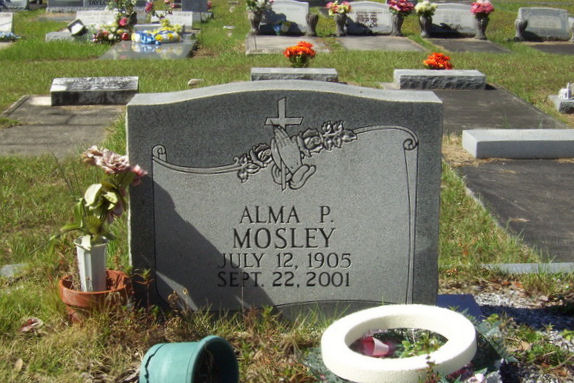 Alma P <i>Padgett</i> Mosley