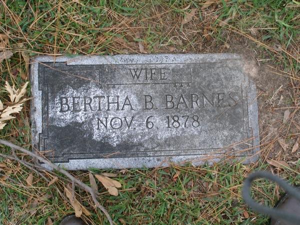 Bertha B Barnes