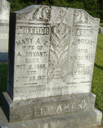 Mary Ann Elizabeth <i>Phillips</i> Bryant