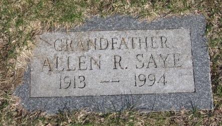 Allen R. Saye