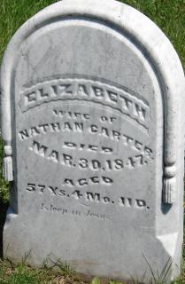 Elizabeth <i>Leonard</i> Carter