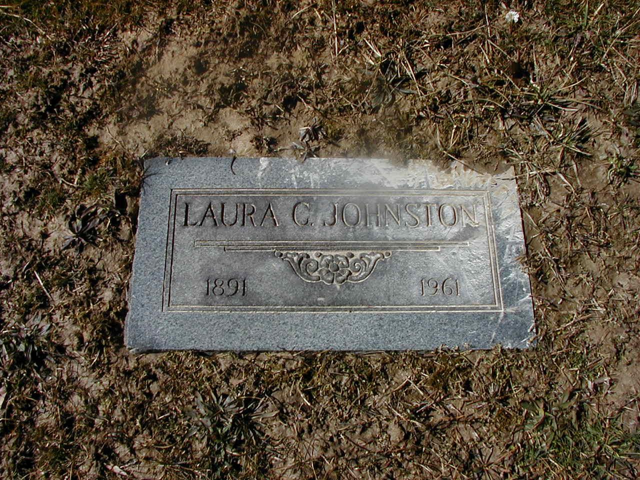 Laura <i>Clark</i> Johnston