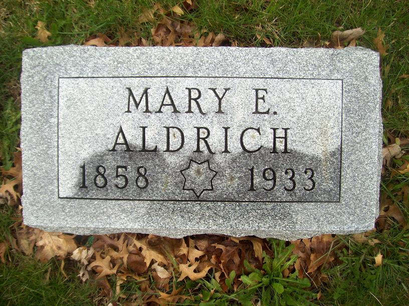 Mary Elizabeth Aldrich