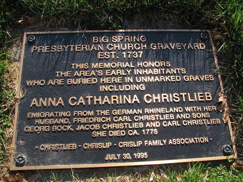 Anna <i>Catharina</i> Christlieb