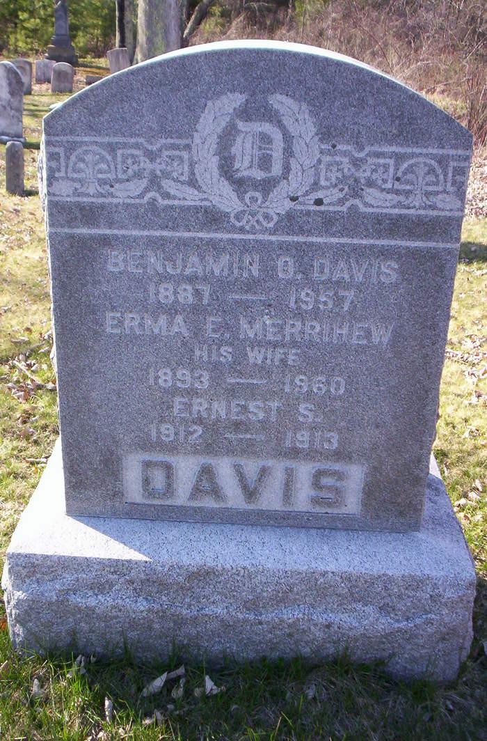 Erma Elizabeth <i>Merrihew</i> Davis