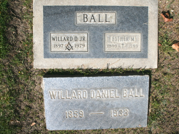 Willard Daniel Ball, Jr