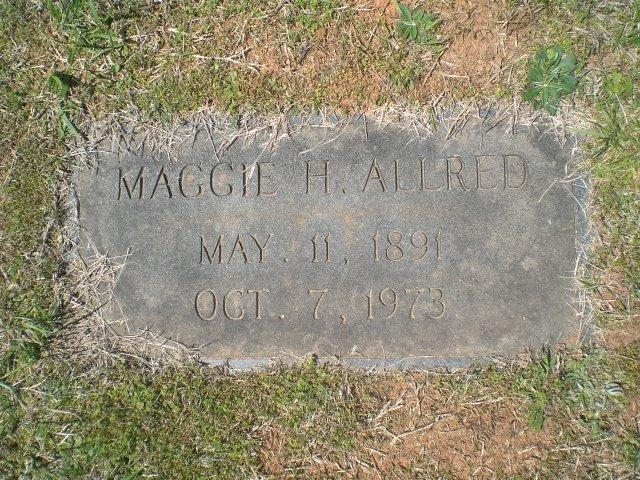 Maggie <i>Hurley</i> Allred