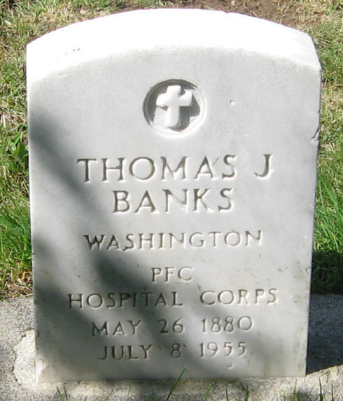 PFC Thomas James Banks
