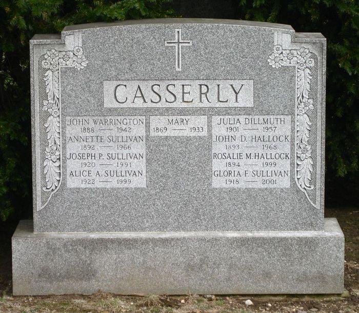 Julia Anastasia Julie <i>Casserly</i> Dillmuth