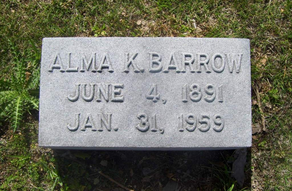 Alma Pearl <i>Kimmel</i> Barrow