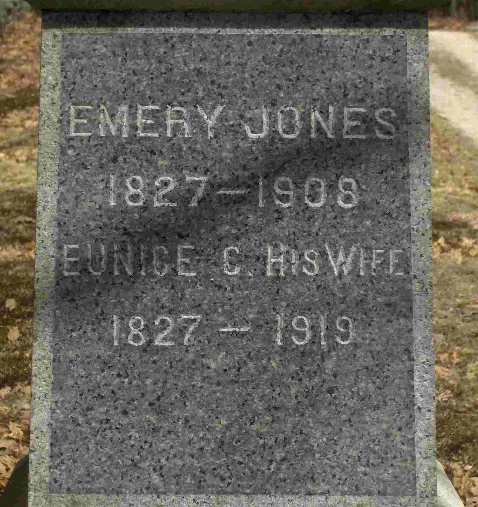 Eunice <i>Merrill</i> Jones