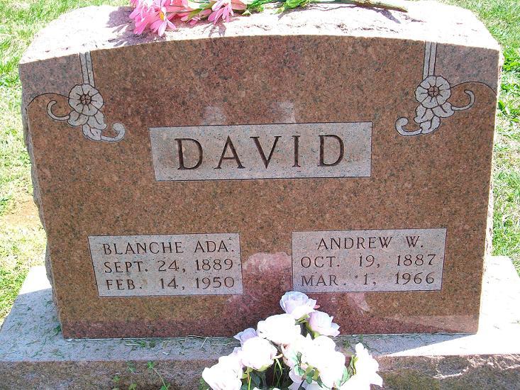 Blanche Ada <i>Walston</i> David