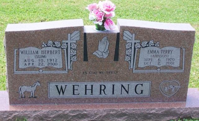 Emma Beryl <i>Terry</i> Wehring