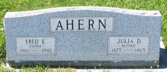 Frederick E. Fred Ahern