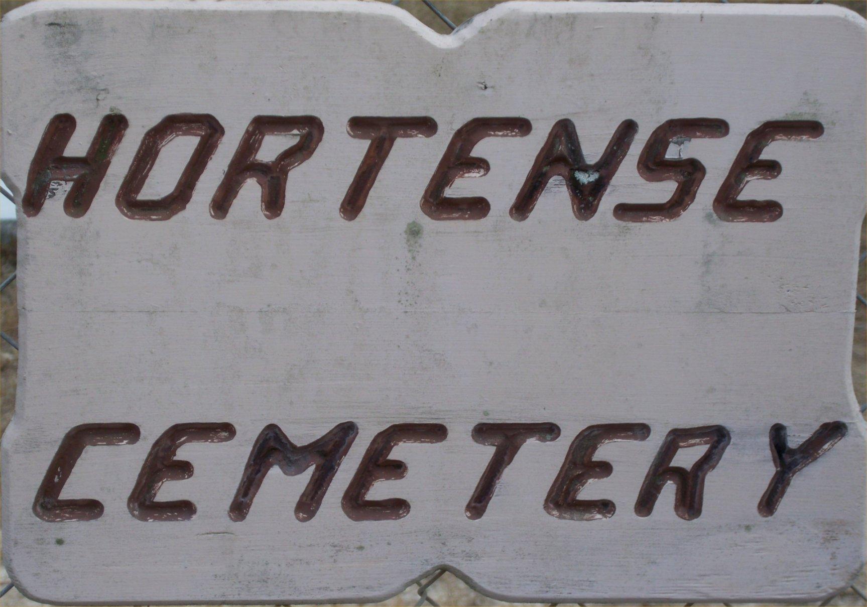 Hortense Cemetery