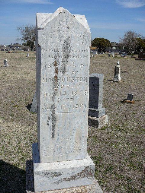 Isabella C. <i>Brumley</i> Houston