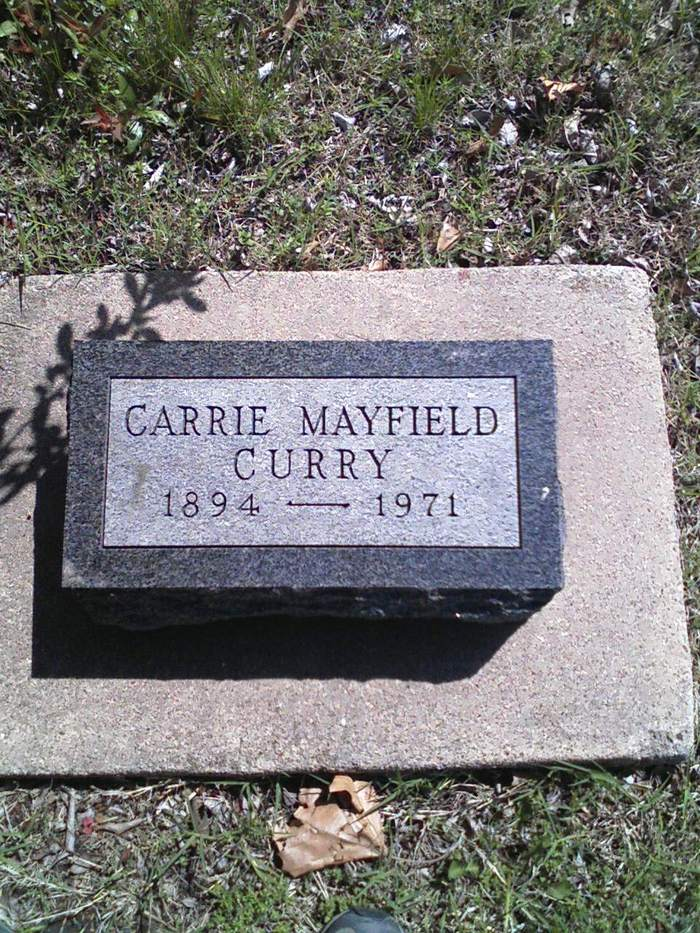 Carrie <i>Mayfield</i> Curry