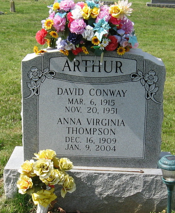 Anna Virginia <i>Thompson</i> Arthur