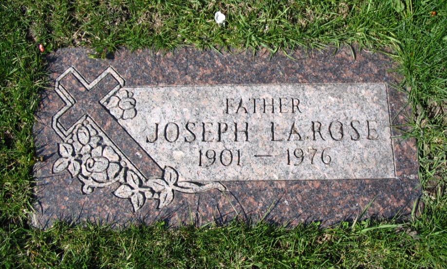 Joseph B Joe La Rose