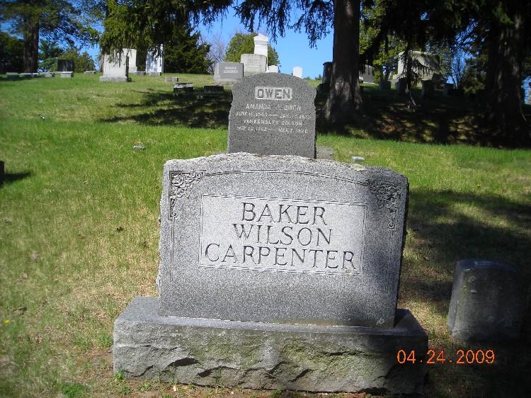 Jennie E. <i>Wright</i> Baker