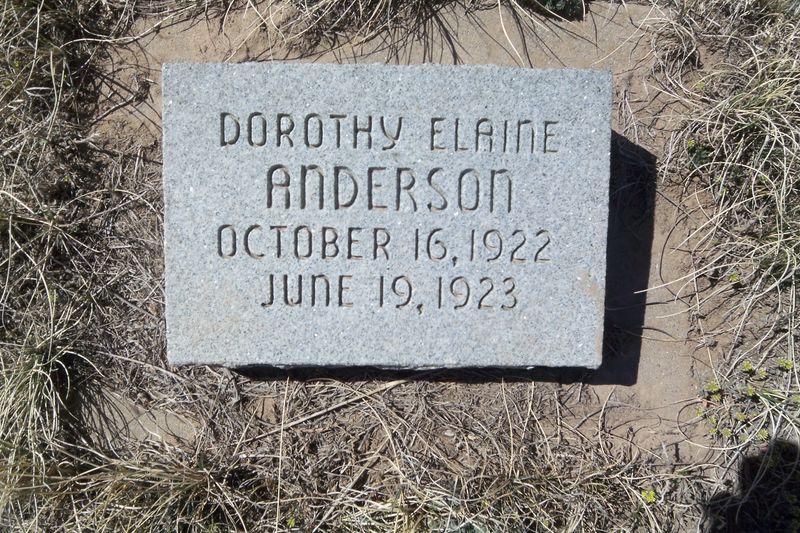Dorothy Elaine Anderson
