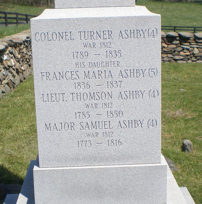 Col Turner Ashby