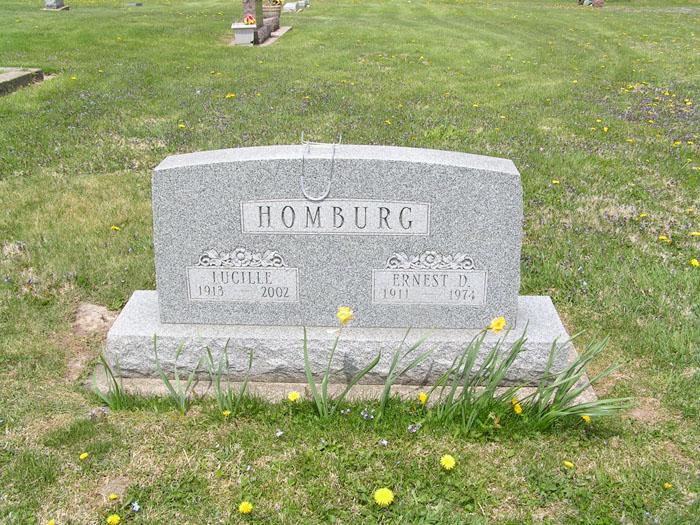 Ernest D Homburg