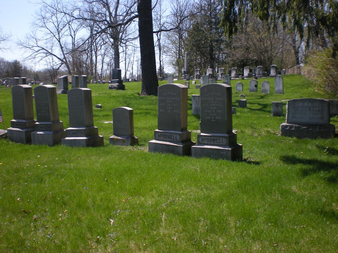 Lick run cemetery