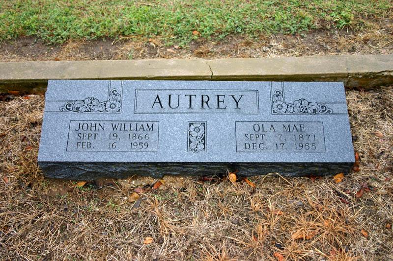Viola Mae Ola <i>Barrow</i> Autrey