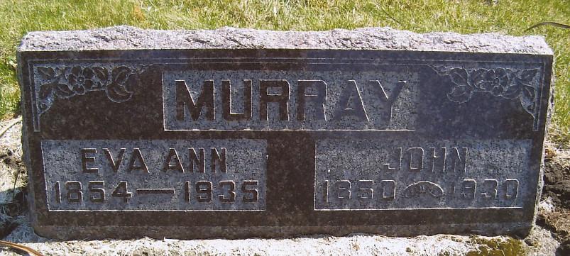Eva Ann <i>Goltry</i> Murray