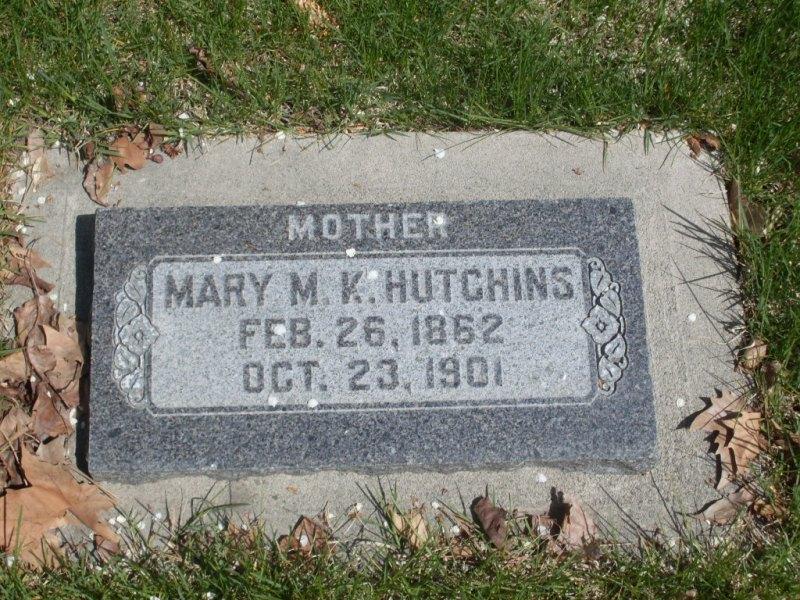 Mary Millie <i>Knight</i> Hutchins