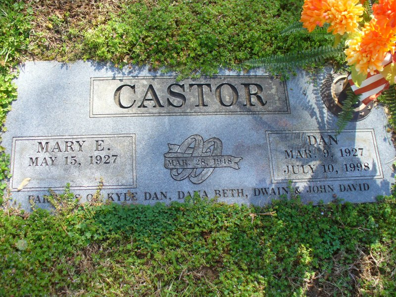 Mary E Castor