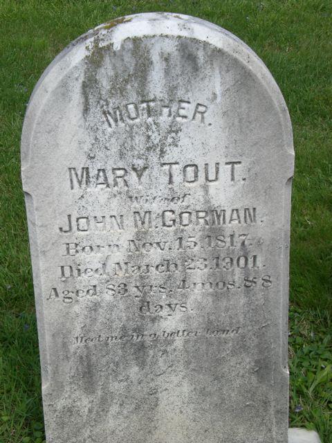 Mary <i>Tout</i> Gorman