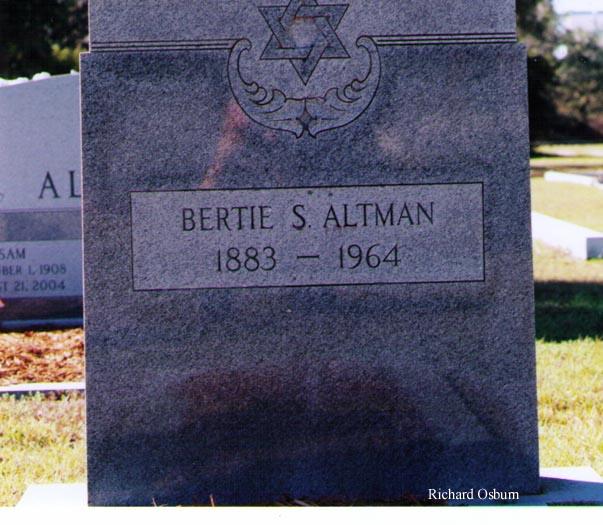 Bertie S. Altman