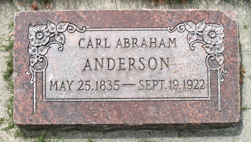 Carl Abraham Anderson