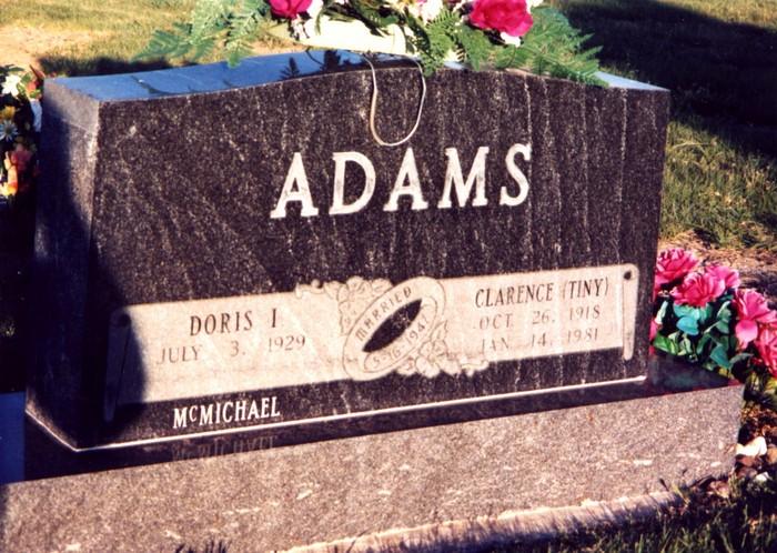Clarence A Tiny Adams
