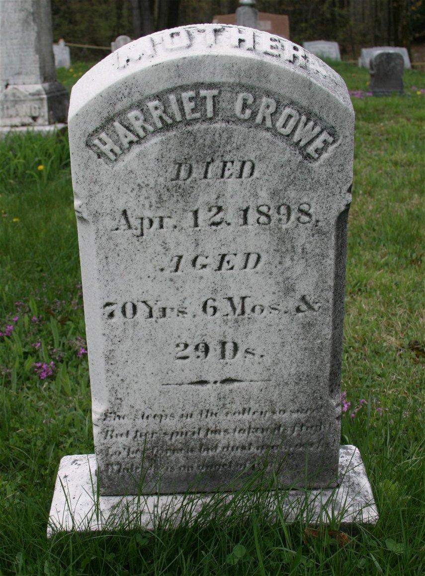 Harriet <i>Durst</i> Crowe
